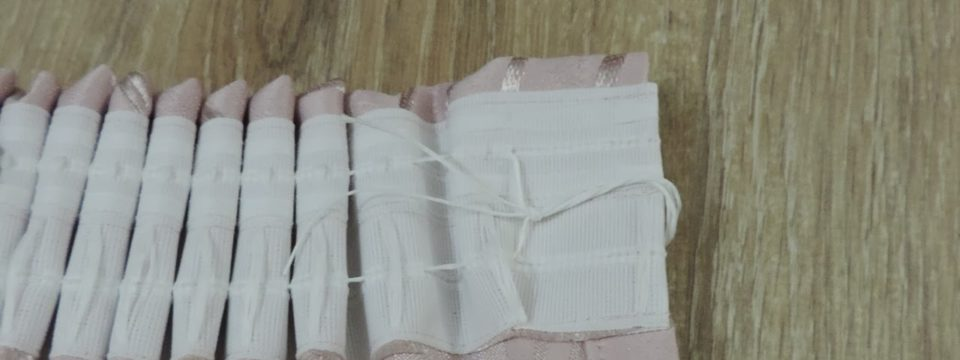 Как пришить шторную ленту к тюлю или портьере: рекомендации
