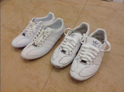чем покрасить белую обувь