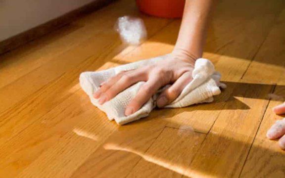 отмыть чернила с пола