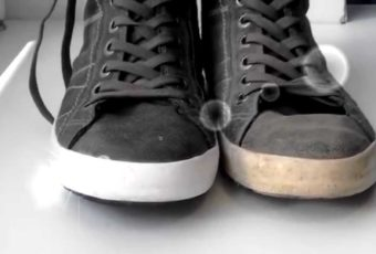 Как отмыть и очистить белую подошву на кроссовках и кедах