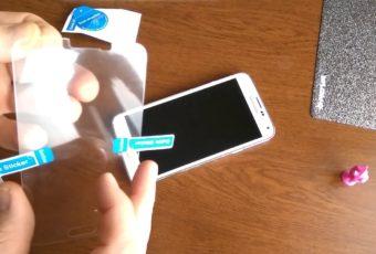 Как правильно и качественно приклеить стекло на телефон