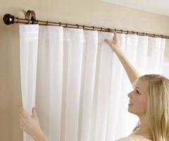 Секреты стирки занавесок и портьер