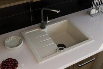 Чем чистить раковину из искусственного камня на кухне