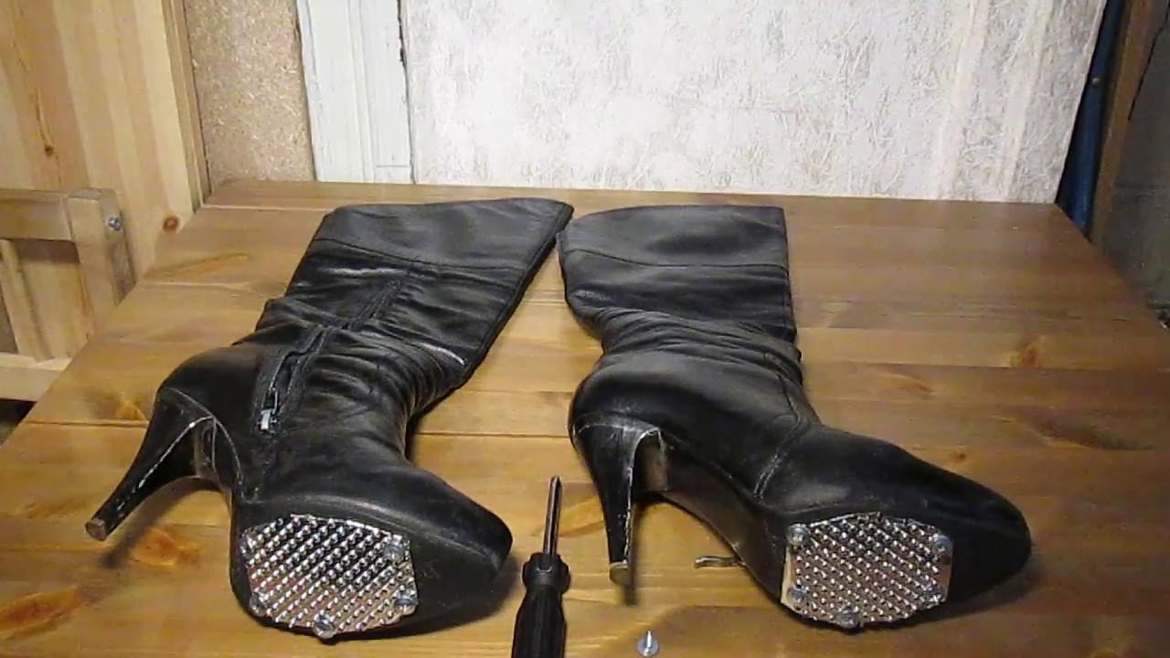 Как сделать подошву обуви нескользкой Новости в Час