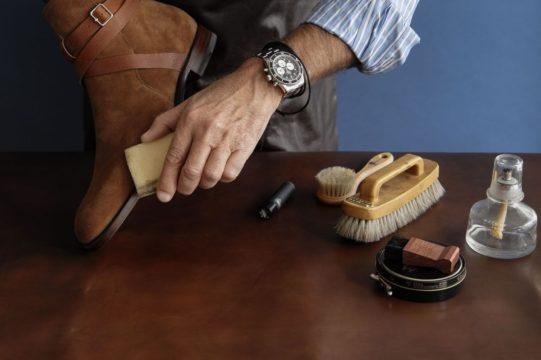 как избавиться от разводов от соли на обуви