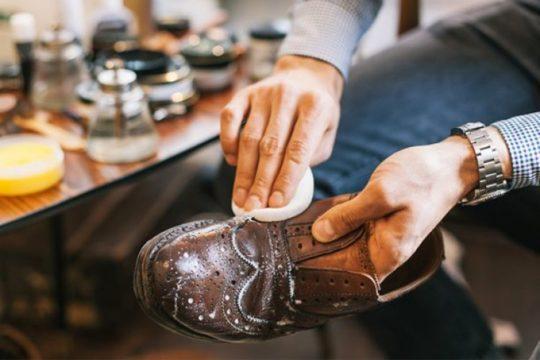 разводы на обуви от соли
