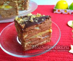 Очень сочный и вкусный торт без выпечки за 15 минут