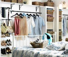 20 идей для хранения вещей в спальне