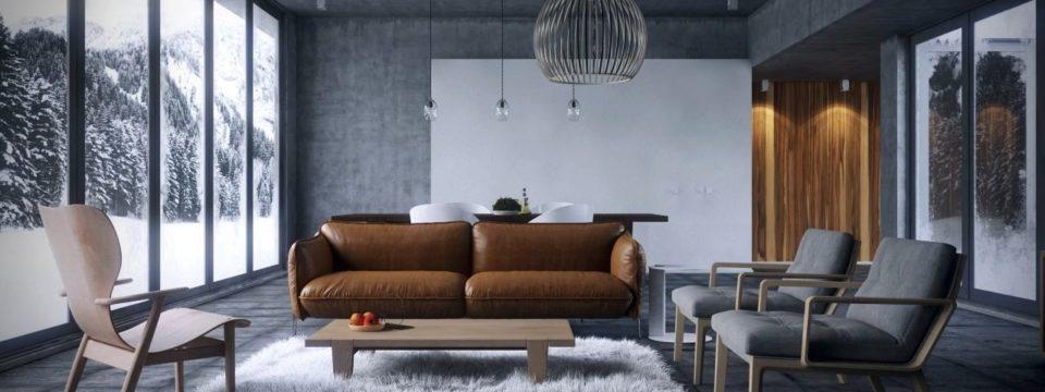 Лаунж – модный стиль в интерьере