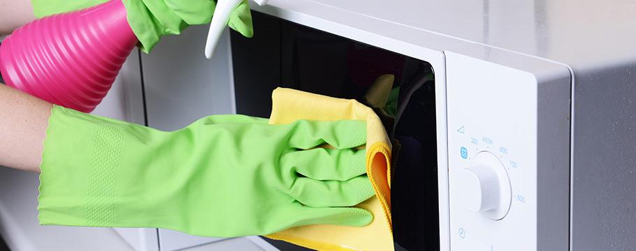 4 способа идеально очистить микроволновку