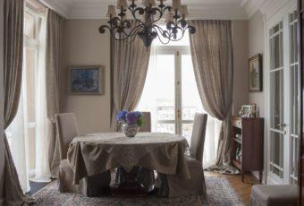 Портьеры в интерьере квартиры — что важно знать о них