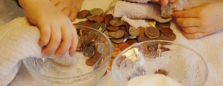 Как и чем почистить монеты в домашних условиях от окиси до блеска