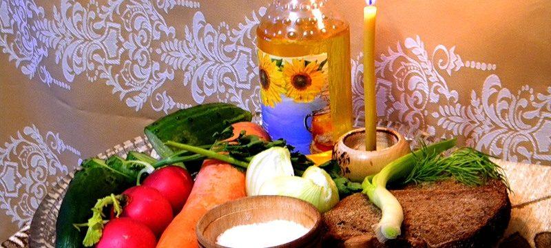 Что кушают православные в Великий пост?
