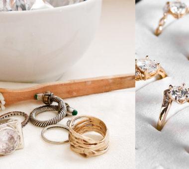 Позолоченное серебро: стирается позолота на таких украшениях или нет