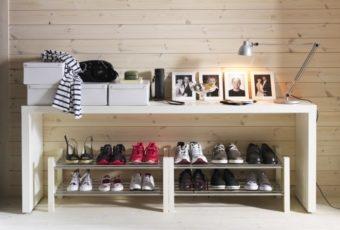 Как хранить обувь, чтобы занимало мало места