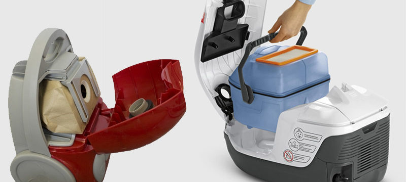 Пылесос с мешком или с контейнером: что лучше