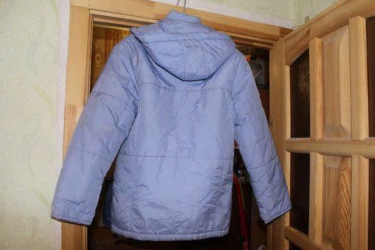 расправить синтепон в куртке после стирки