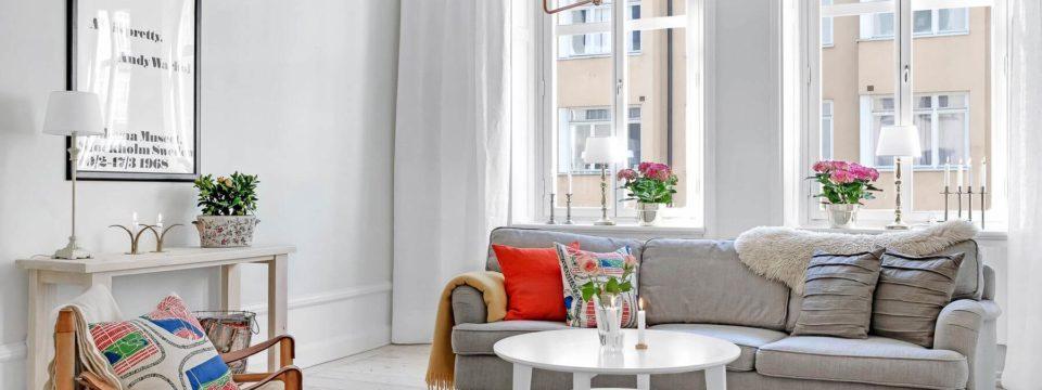 Интерьер квартиры в скандинавском стиле (фото)
