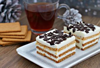 Как испечь торт без выпечки за 15 минут