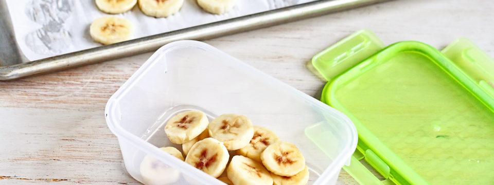 Как заморозить бананы, чтобы они долго не портились