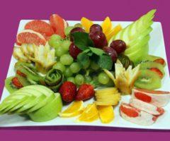 Лучшие идеи фруктовой нарезки на праздничный стол (фото)