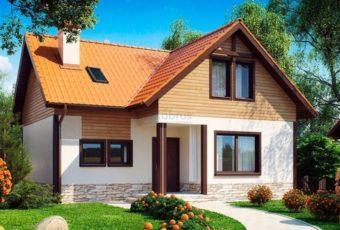 Удобный и практичный дом с двумя спальнями и просторной кухней-гостиной