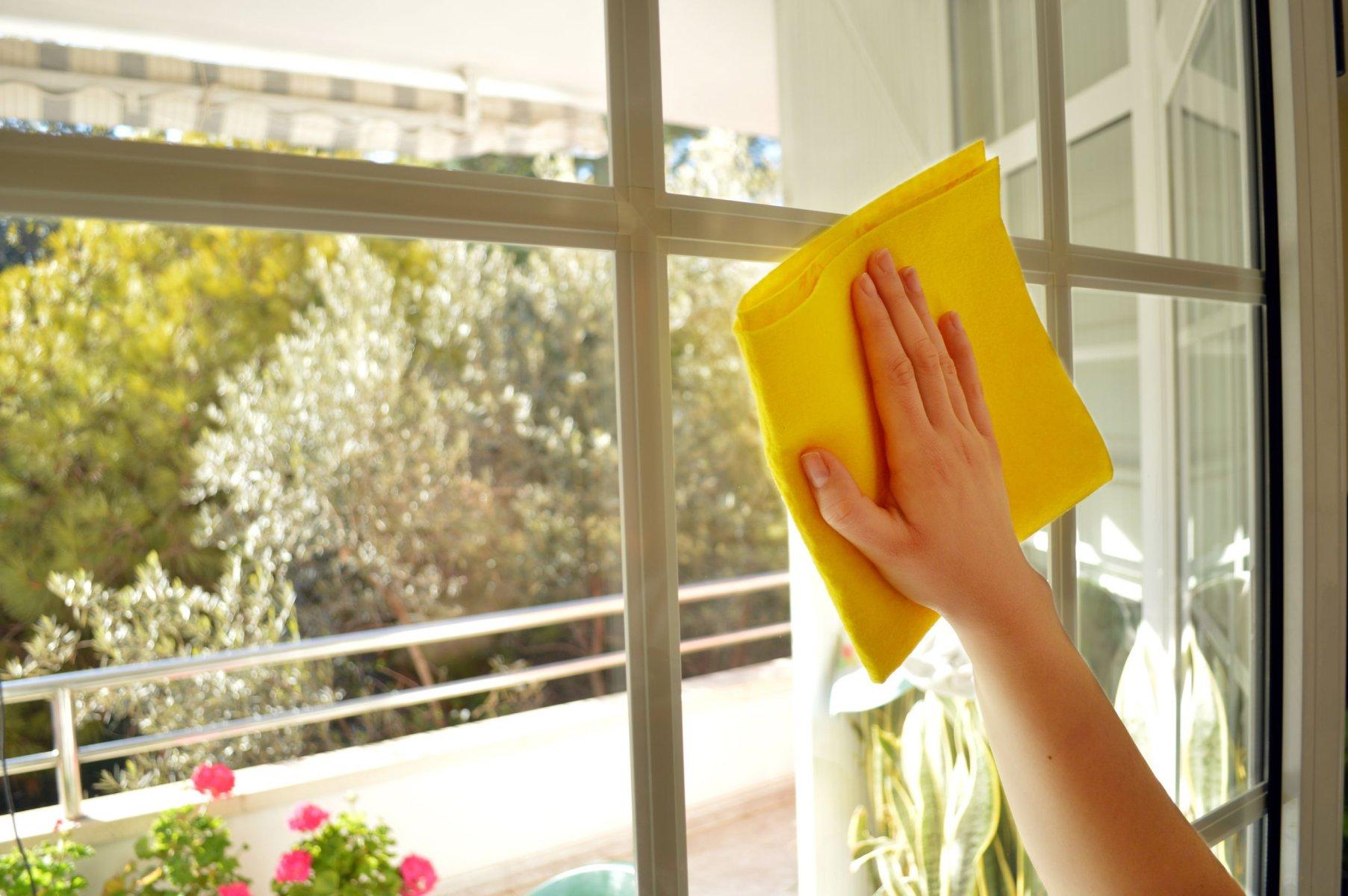 мытье окон