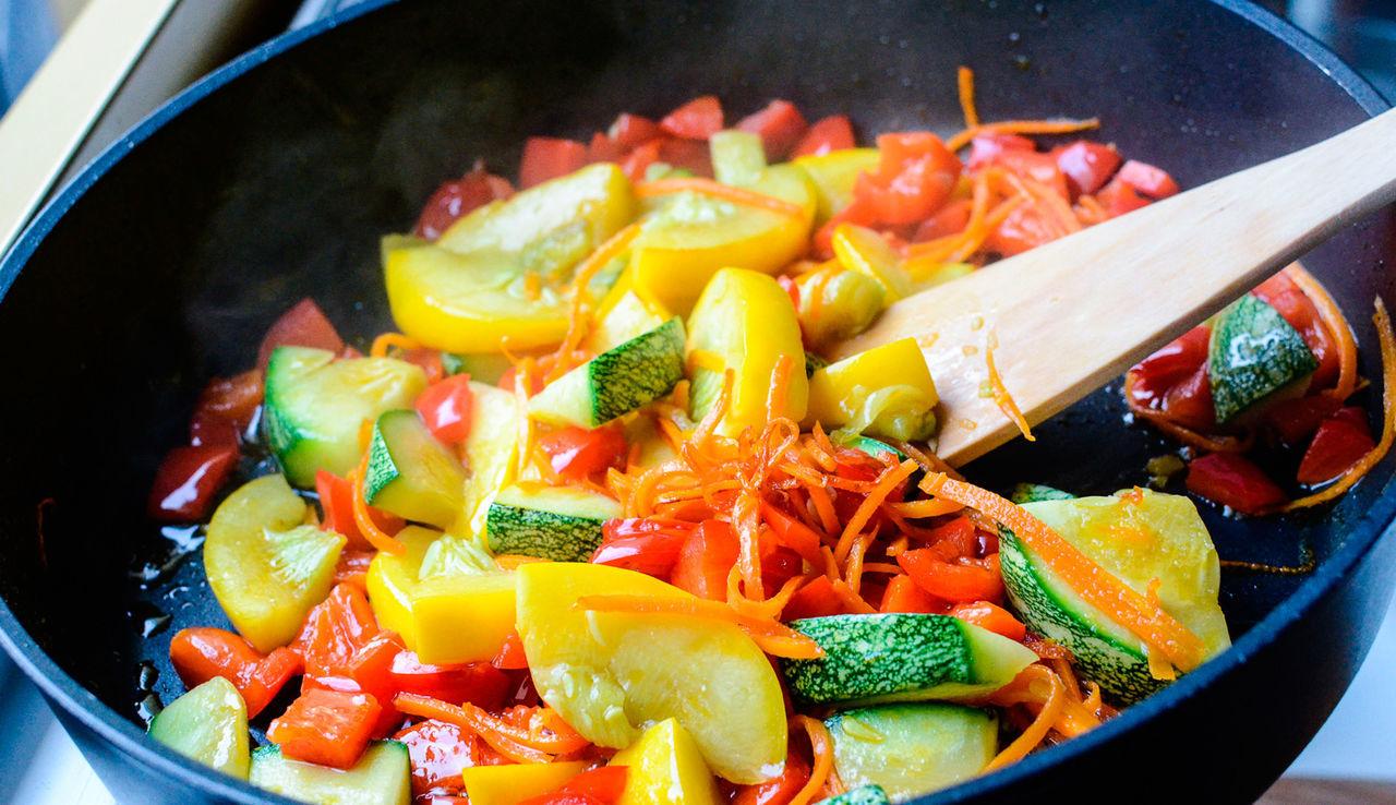 Сделайте овощной гарнир