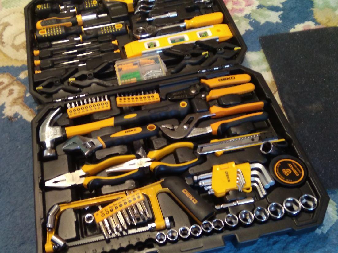 Набор инструментов DEKO 168
