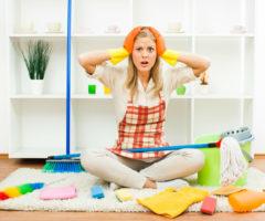 10 ошибок при уборке, которые делают ваши усилия напрасными