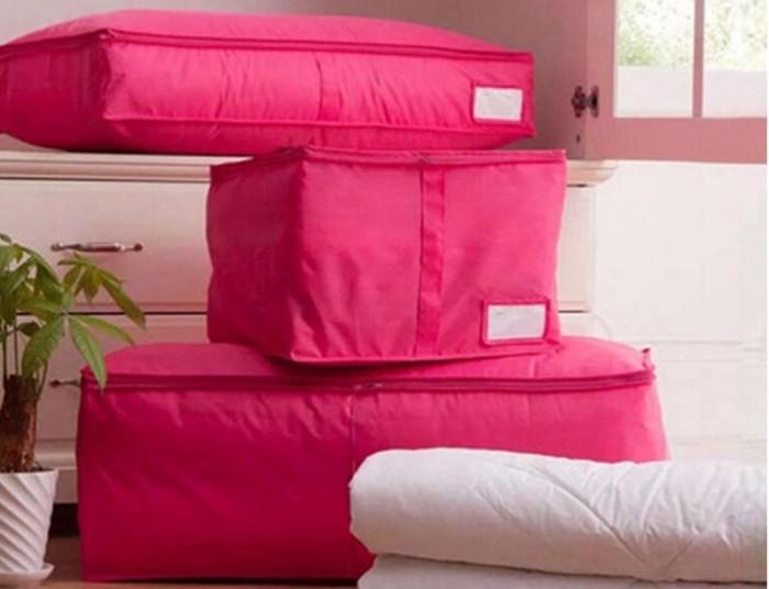 Яркие и модные чехлы для хранения подушек и одеял