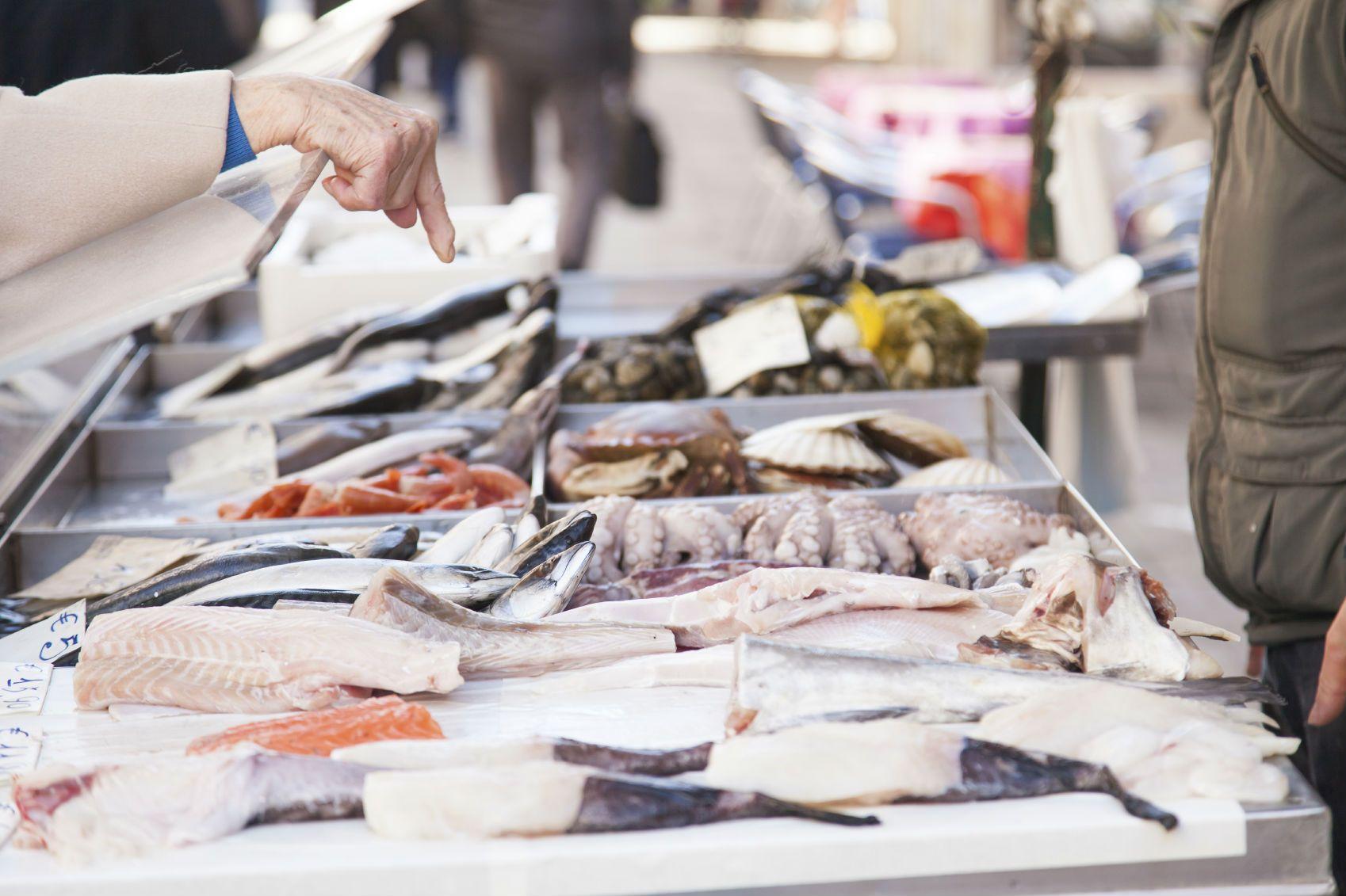 покупка рыбы
