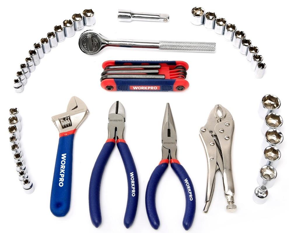Набор инструментов WORKPRO 145