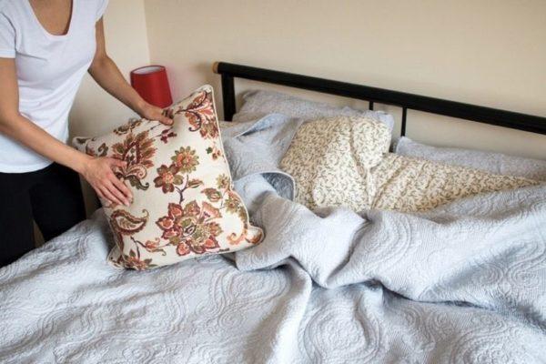 Правила смены постельного белья