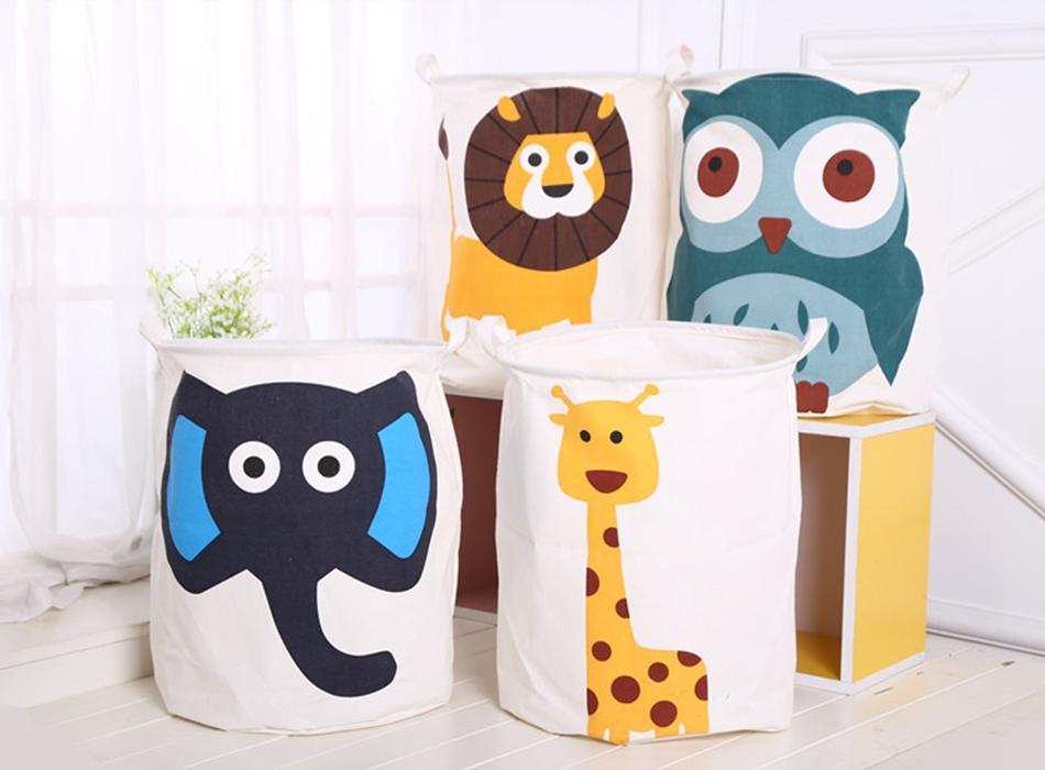 Складной мешок для хранения игрушек, с ярким дизайном
