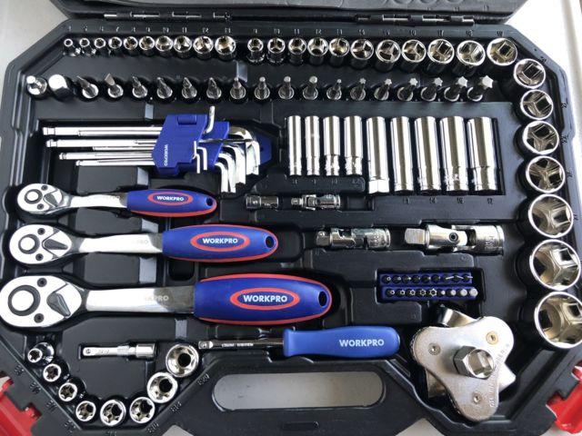 Набор инструментов WORKPRO 123