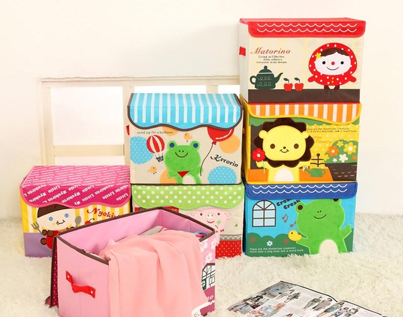 Коробки для хранения игрушек, с мультяшным дизайном