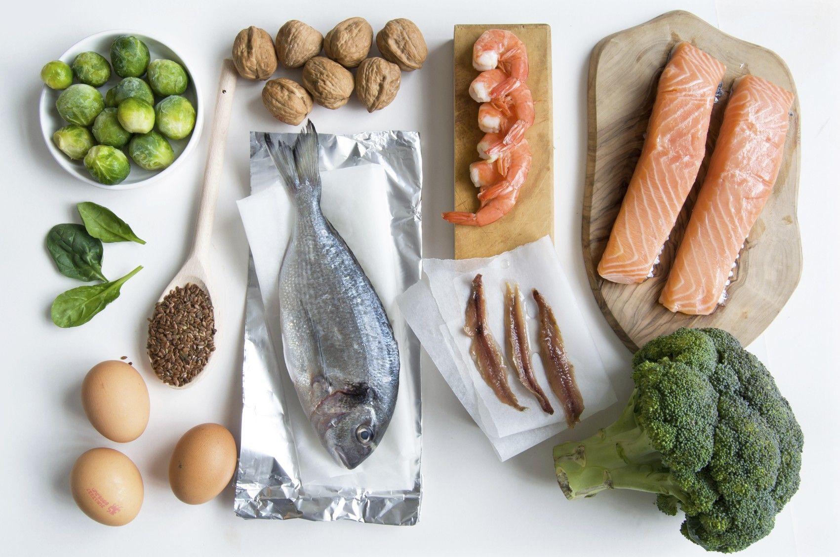 продукты богатые жирными кислотами