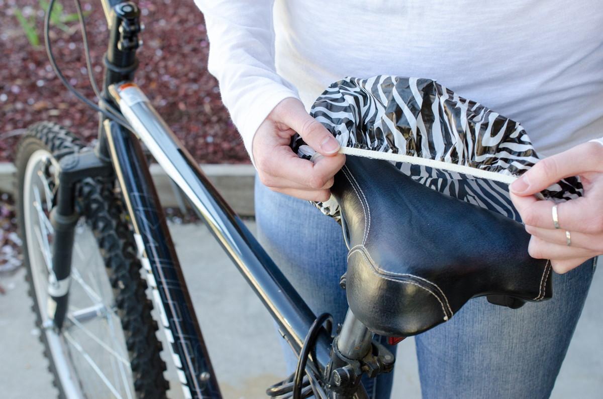 Защита сидения велосипеда