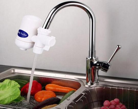 водопроводный кран фильтр