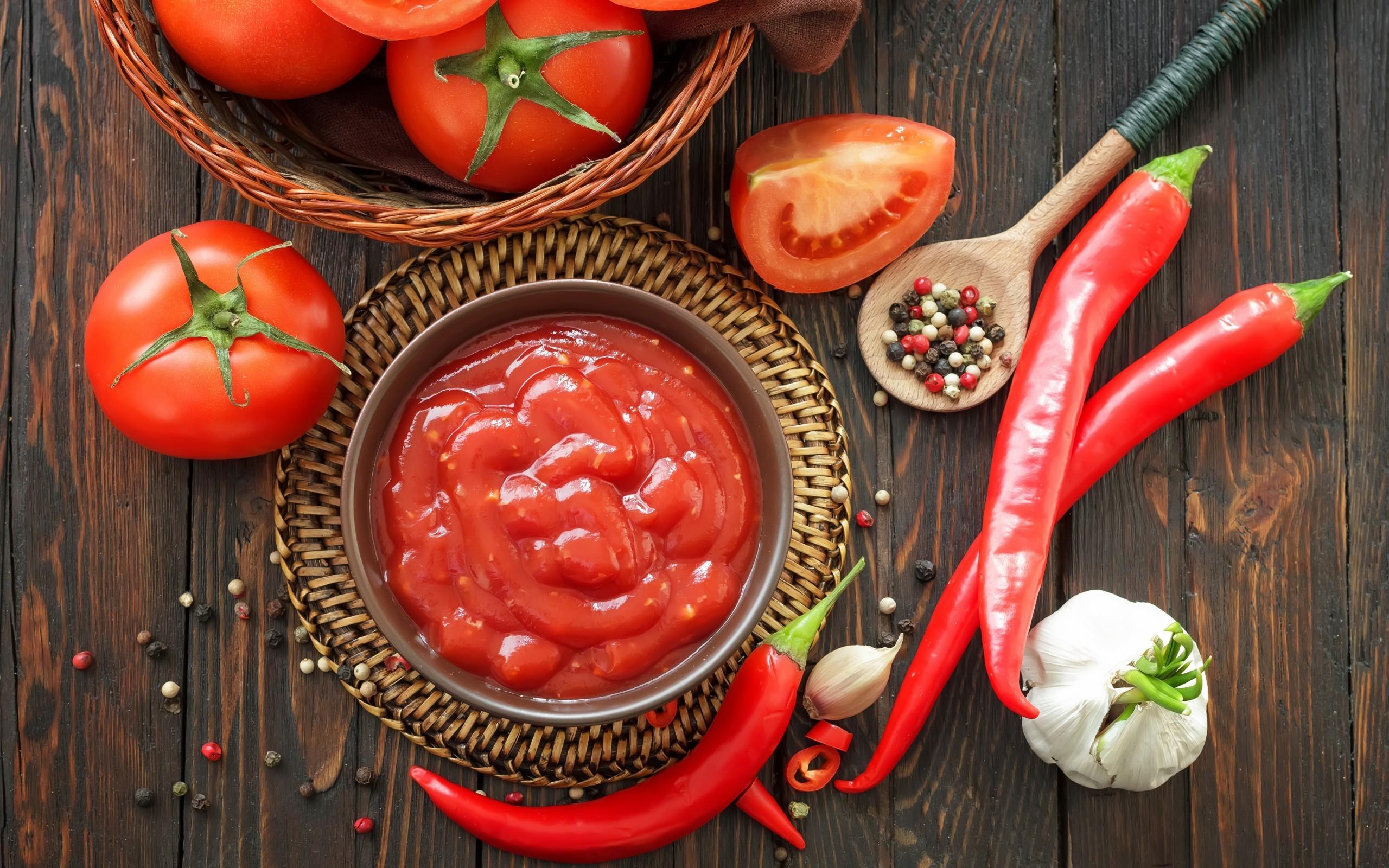 Острая еда и пикантные соусы