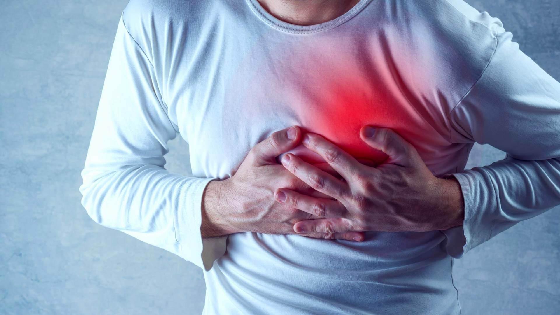 Дискомфортные ощущения в грудной области