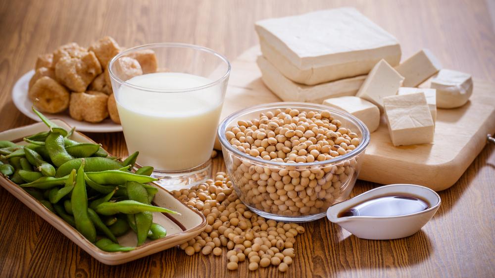 Соевые бобы и соевые продукты