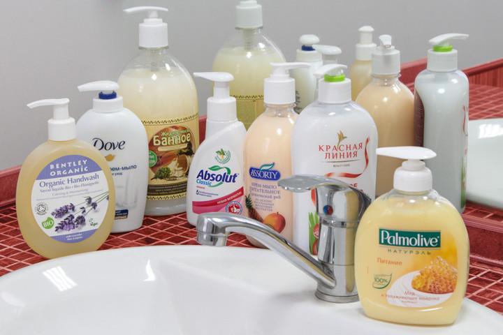 туалетное жидкое мыло