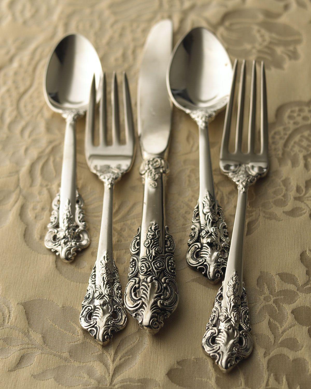 ложки, вилки и ножи