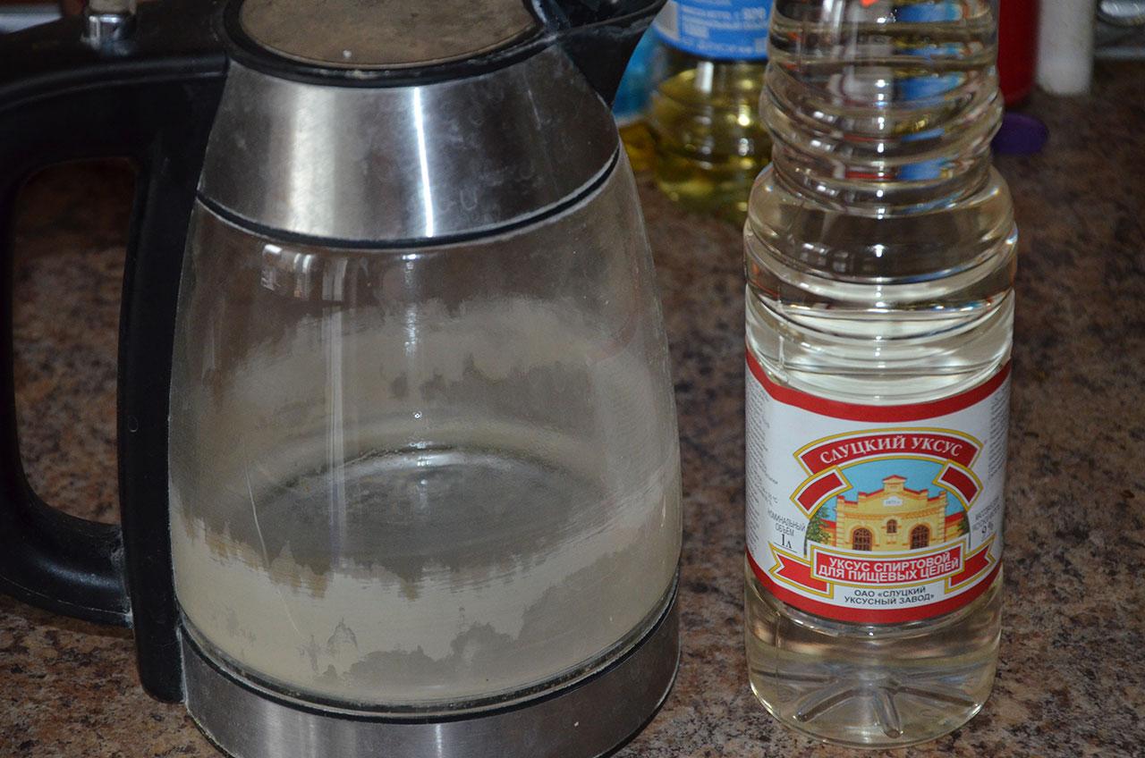 Удалите накипь в кофеварке с помощью простого уксуса