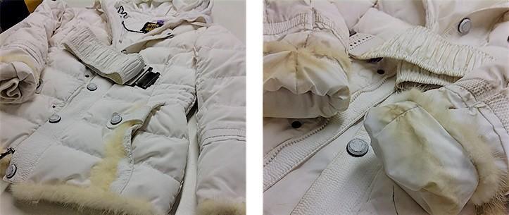 одежда после химчистки