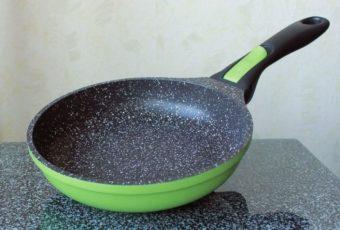 Экологически чистая сковорода с каменным покрытием – и только она!