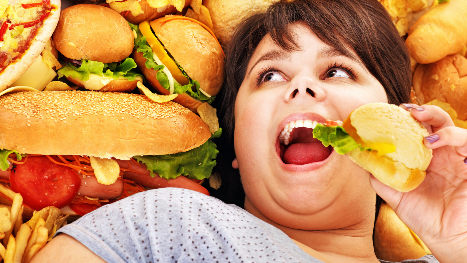 Неправильное питание, переедание