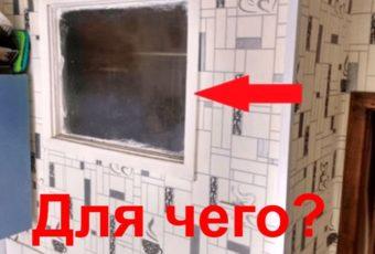 Для чего раньше в хрущевках делали окно между ванной и кухней